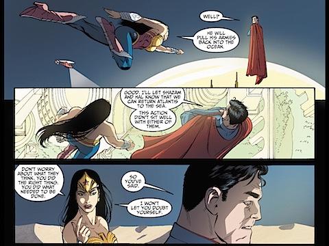 Wonder Woman returns to Superman