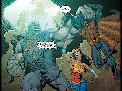 Diana attacks Grundy
