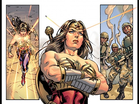 Wonder Woman is bulletproof