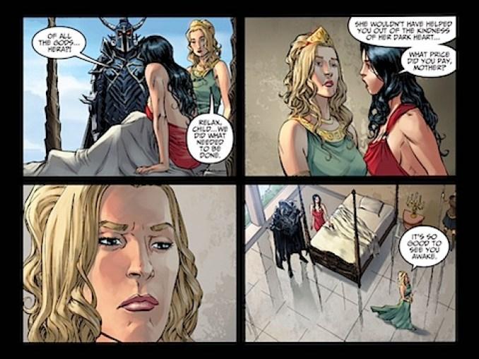 Hera's help