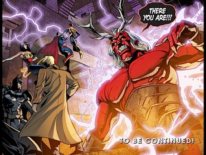John Constantine summons a demon