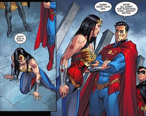 Diana apologies to Clark