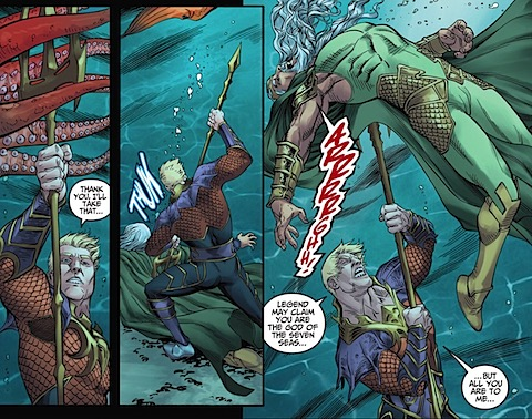 Aquaman kills Poseidon