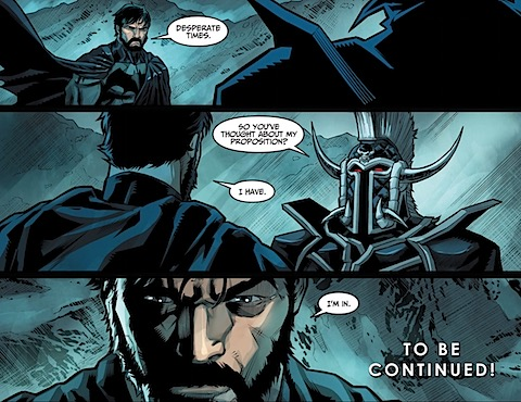 Ares and Batman become allies