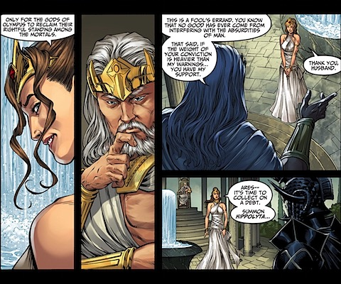 Hera and Ares