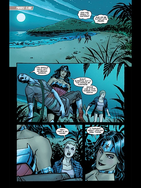 Wonder Woman sense of humour