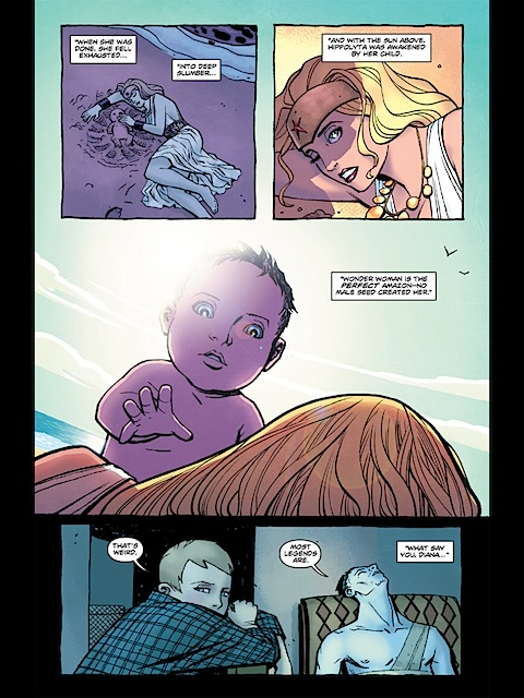 Wonder Woman's revised birth scene