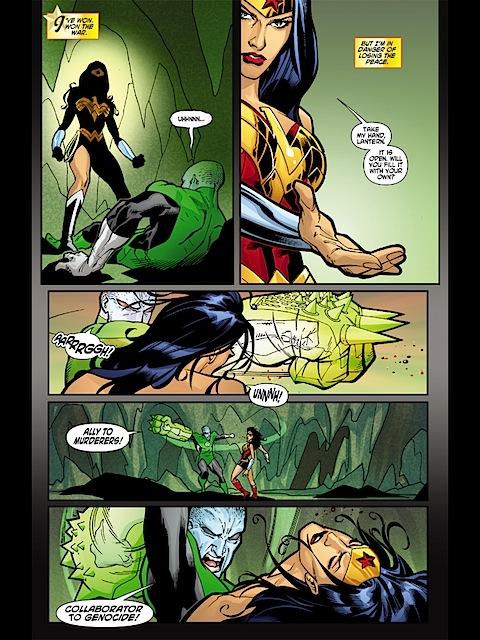 Wonder Woman takes a beating