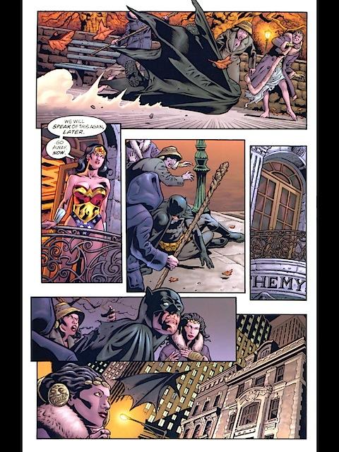 Batman in the Hiketeia