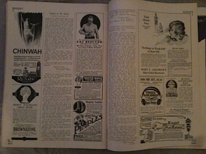 Motion Picture magazine ads