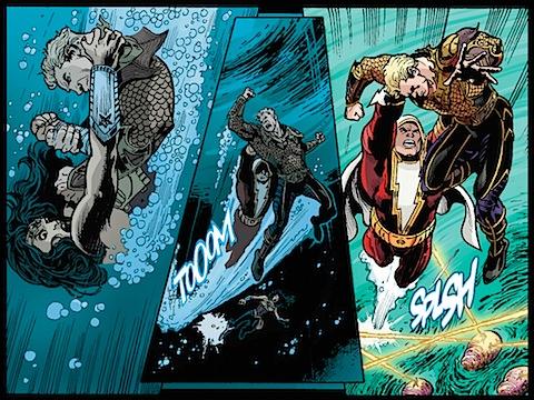 Shazam saves Wonder Woman