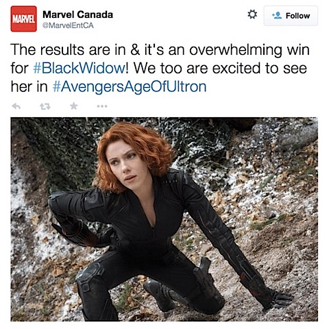 Everyone's waiting for more Black Widow