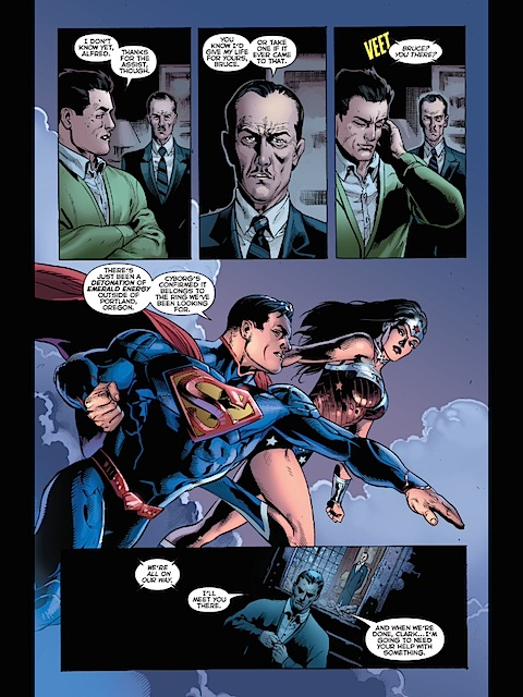 Wonder Woman and Superman in Justice League #32