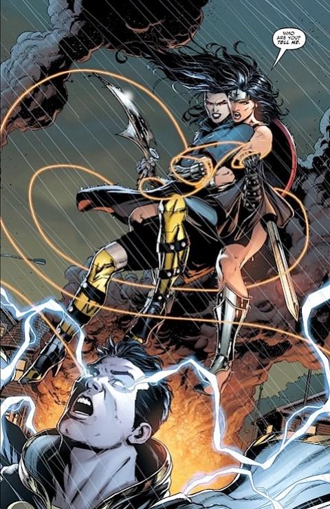 Grail survives Wonder Woman's lasso