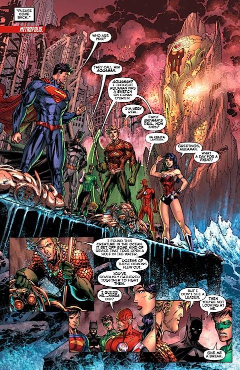 Wonder Woman likes fighting. Still