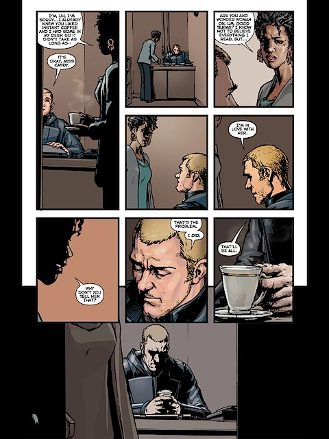 Steve Trevor said I love you