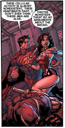Wonder Woman wants a fight