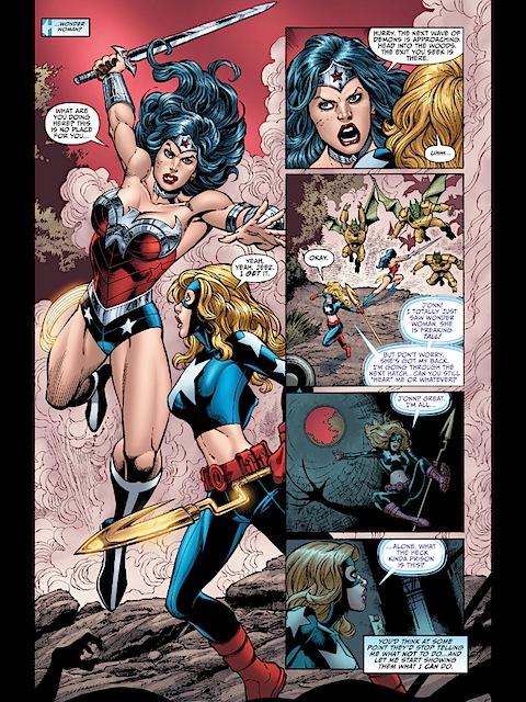 Wonder Woman is tall