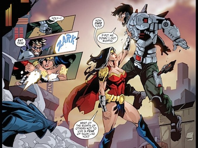 Wonder Woman fights back