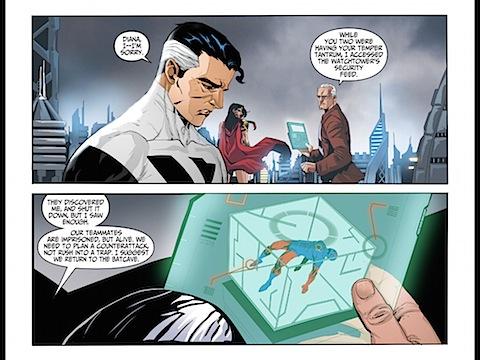 Superman apologises