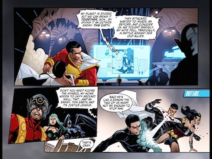 The Justice Lords hear the plan
