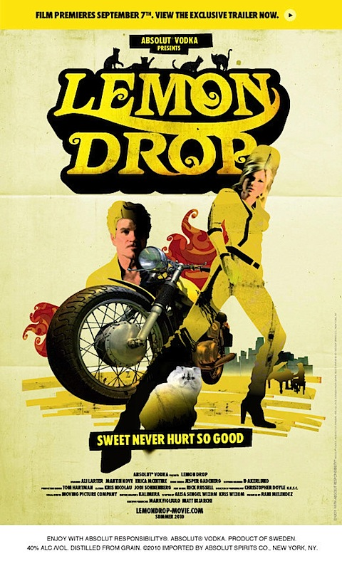 The poster for Lemon Drop with Ali Larter