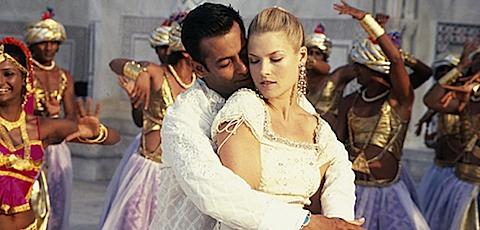 Ali Larter and Salman Khan in Marigold