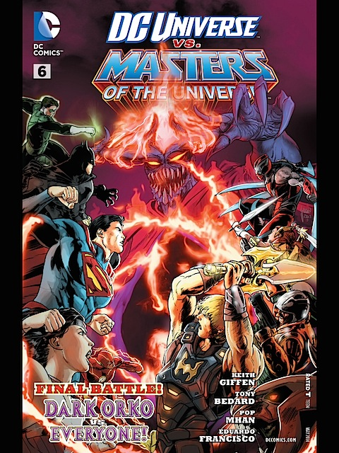 Masters of the Universe vs DC Universe #6