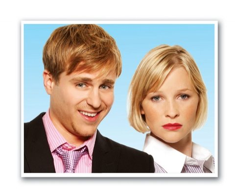 Kevin Bishop and Joanna Page in Fat Pig