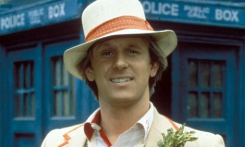Peter Davison as the Doctor