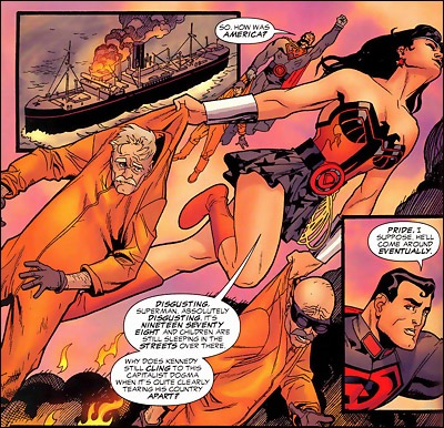 Wonder Woman in Red Son