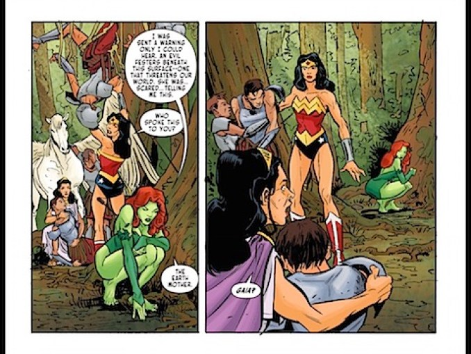 Poison Ivy has spoken with Gaia