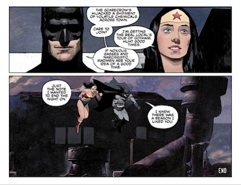 Wonder Woman and Batman go off fighting crime together