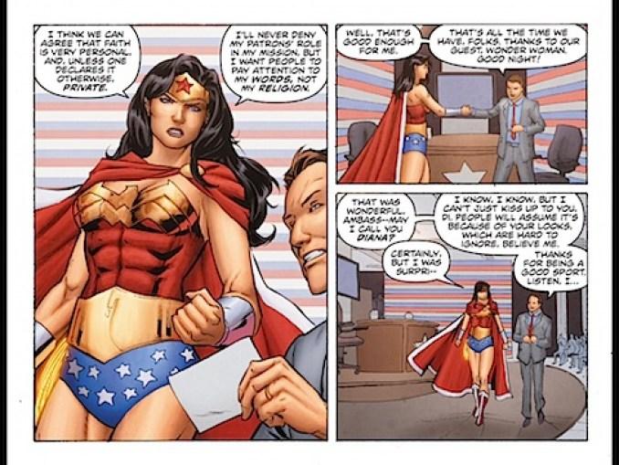 Wonder Woman denies the gods