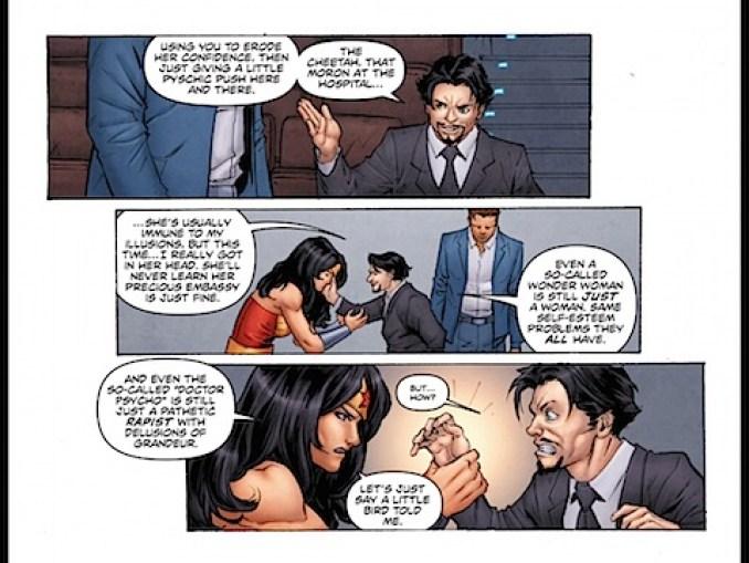 Wonder Woman reveals she's still inside