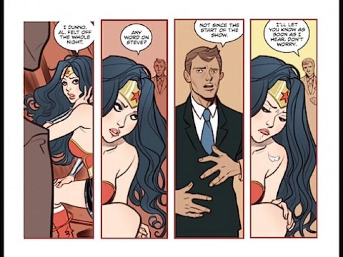Wonder Woman pines after Steve