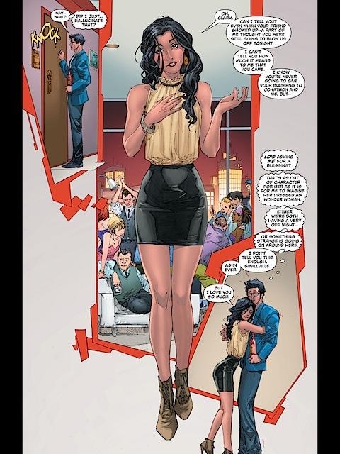 Lois dressed as Lois