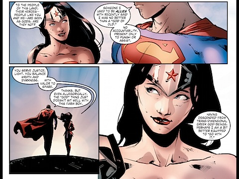 Diana is a goddess