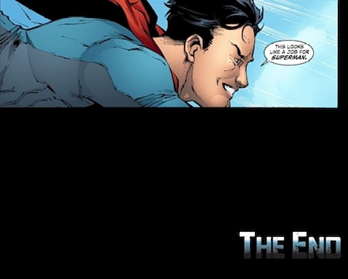 A job for Superman