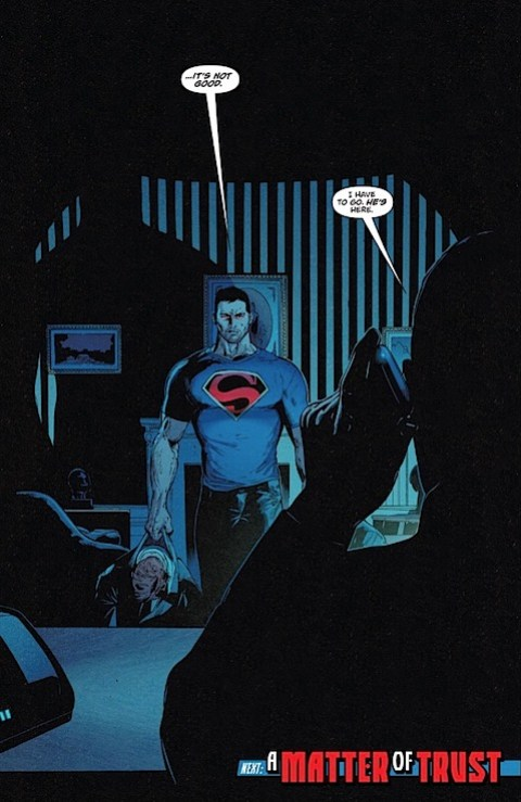 Superman meets the President