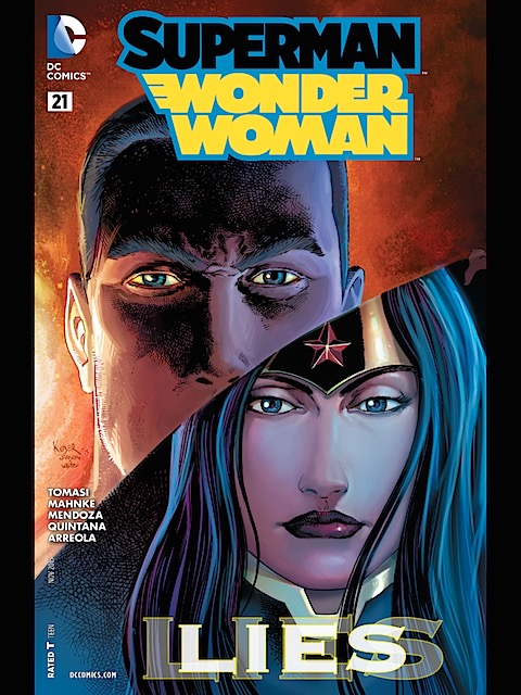 Superman-Wonder Woman #21
