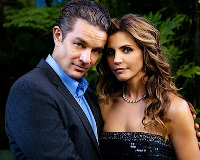 James Marsters and Charisma Carpenter in Supernatural
