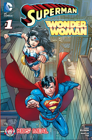 Wendy's Superman/Wonder Woman