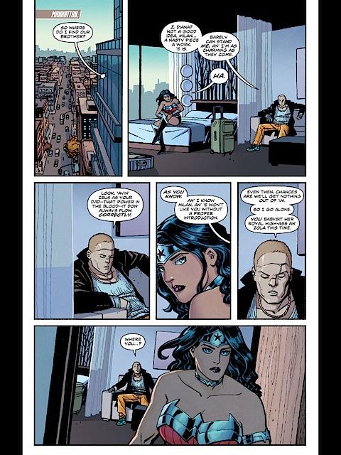 Wonder Woman in New York