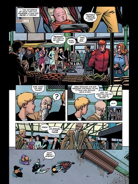 Wonder Woman suggests Steve as a name