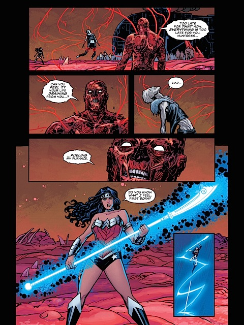 Wonder Woman can make weapons