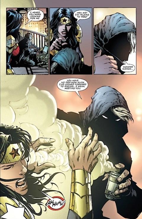 Wonder Woman gets gassed