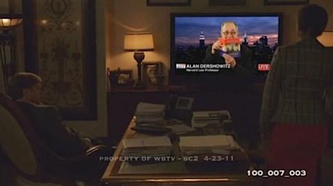 Allen Dershowitz in Wonder Woman