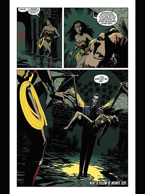 The Joker has killed Etta Candy