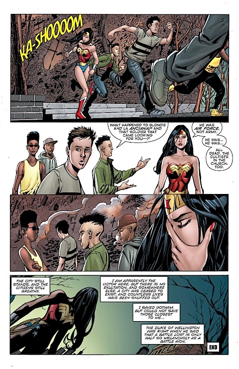 Wonder Woman is all alone